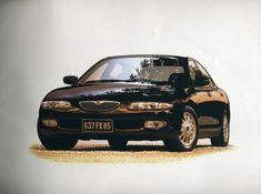 Mazda Xedos 6, Japan Motors, Transportation Technology, Automobile, Japanese, Cars, Vehicles, Design, Car