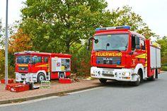 Art-EFX-Substation as Mini Fire Truck in Velber,  #artefx, #murals, #muralpainting, #streetart, #graffitiauftrag, #substation, #illusionsmalerei, #firetruck, #firefighter, #feuerwehr, #velber