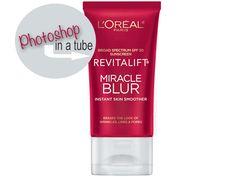 Photoshop in a Tube: L'Oréal Paris Revitalift Miracle Blur