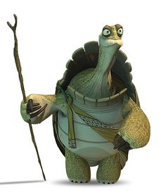 """It takes a wise and enlightened guy to create something like Kung Fu - In the mythology of the """"Kung Fu Panda"""" films, Oogway invented Kung Fu. Kung Fu Panda 3, Dreamworks Animation, Disney And Dreamworks, Kung Fu Poses, Guerrero Dragon, Master Oogway, Character Art, Character Design, Pooh Bear"""