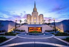 Brigham City Temple...i can see this from my house !