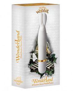 Wonderland The White Wabbit