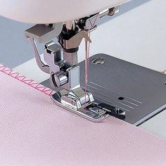 Metal Domestic Sewing Machine Rolled Hem Foot For Brother Janome Singer Pro· Fat Quarter Projects, Sewing Hacks, Sewing Tips, Sewing Tutorials, Sewing Lessons, Love Sewing, Hand Sewing, Sewing Accessories, Sewing Projects For Beginners