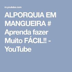 ALPORQUIA EM MANGUEIRA # Aprenda fazer Muito FÁCIL!! - YouTube