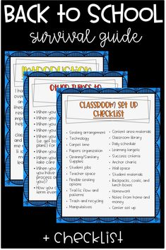 Are you getting ready to set up your classroom? You'll love this must have back to school survival guide! This guide includes everything you need to successfully set up your classroom for the year. Including: routines, procedures, learning targets, centers, and so much more! Whether you are a new or veteran teacher, this guide is a lifesaver! Click through to see more!