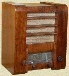 Rádio de Válvulas.