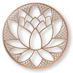Graham & Brown H x W Botanical Metal Wall Sculpture at Lowe's. The lotus blossom is a symbol of purity and patience. For this graceful metal art the beautiful blossom is the center of the design completed in a Feather Wall Decor, Metal Flower Wall Decor, Metal Flowers, Metal Wall Art Decor, 3d Wall Art, Framed Wall Art, Wall Décor, Tree Wall, Metal Wall Sculpture