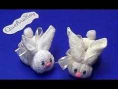Estos conejitos son un detalle muy lindo para decorar tu baño,para regalar en un bautizo o un baby shower son muy sencillos de hacer y múy économicos