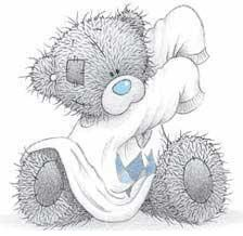 Tatty Teddy Hugs - a sample site by HazelB Web Design Tatty Teddy, Teddy Bear Images, Teddy Bear Pictures, Cute Images, Cute Pictures, Photo Ours, Urso Bear, Teddy Hermann, Blue Nose Friends