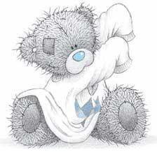 Tatty Teddy Hugs - a sample site by HazelB Web Design Tatty Teddy, Teddy Bear Images, Teddy Bear Pictures, Cartoon Cartoon, Cute Images, Cute Pictures, Photo Ours, Teddy Hermann, Blue Nose Friends