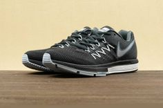 Nike Air Zoom Vomero 10 Running Shoes - Classic Charcolate/White-Black