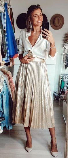 7a51fb9f5e9d 134 Best cream outfits images in 2019 | Feminine fashion, Outfit ...