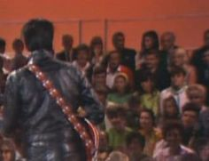 "Elvis Aron Presley-- 68 Comeback Special/ Looks like Priscilla Wagner Beaulieau Presley in back row. Does anyone know if she really was at the taping of ""His"" Elvis' 68 Comeback Special? I really hope she was because I truly believe they were truly in love with each other. That Elvis tried to get her back just before he passed away and she has stated she still loves Elvis and no one else could ever take his place."