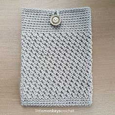 This mobile device cover is written for a standard iPad, but includes easy instructions for modifying it to cover any size of mobile device, from your phone to your tablet or iPad.