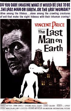 The Last Man on Earth, primera adaptación de la novela Soy Leyenda, con Vincent Price