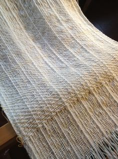 twill weave with variety of yarns