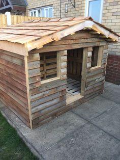 Nova kuca pallet barn, pallet shed, pallet house, pallet crafts, diy wood Pallet Dog House, Pallet Barn, Pallet Shed, Wood Shed, Diy Pallet Projects, Outdoor Projects, Pallet Crafts, Outdoor Ideas, Dog Houses