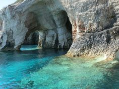 Greece...blue caves