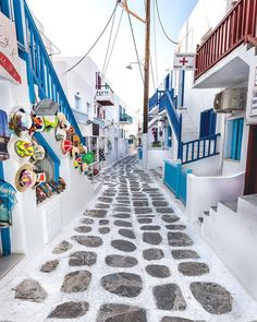 Which Island you like better? Mykonos or Santorini? Places To Travel, Places To Go, Travel Destinations, Travel Goals, Greek Islands, Greece Travel, Romantic Travel, Dream Vacations, Land Scape