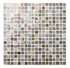 "Czars Delight Iridescent Glass Mosaic15mm 5/8"" Tile"
