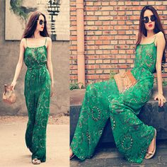 Fashion Sexy Women Cocktail Evening Jumpsuit Wide Leg Pants Playsuit Rompers | eBay