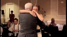 I honestly cried-This bride's father passed away and so for what would have been the daddy-daughter dance her brother sang Butterfly Kisses and all of the special men in her life took turns dancing with her!