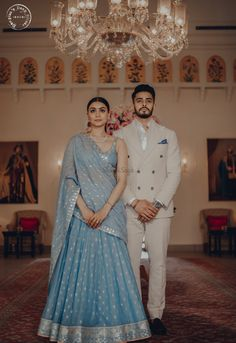 This Couple's Pre-wedding Look will Calm your Hearts like Never Before! This Couple's Pre-wedding Look will Calm your Hearts like Never Before! Indian Bridal Outfits, Indian Dresses, Bridal Dresses, Party Dresses, Summer Dresses, Couple Wedding Dress, Indian Wedding Couple, Indian Wedding Clothes, Indian Weddings