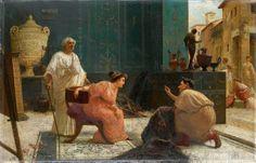 Ettore Forti - Il venditore di tappeti.