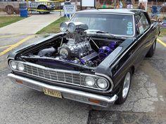 nineteen sixties muscle cars