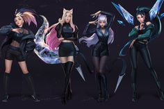 "Riot Games' K/DA Drops New Single ""The Baddest"" 