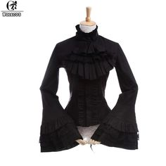 e53496cf560 ROLECOS Gothic   Renaissance   Victorian   Medieval Style Blouse. Cheap  costume made t shirts ...