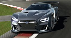 Another day, another Gran Turismo Vision concept, where an automaker debuts a concept deemed too crazy to exist in real-life form. This one comes from Subaru, and it's called the Viziv GT Vision Concept. I like it, but I say this: Where's the rally car? Auto Motor Sport, Sport Cars, Automotive News, Automotive Design, Subaru Wrx, Power Boats, Rally Car, Kids Sports, Aston Martin