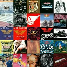 AEROSMITH ALBUM'S  [ I Have Them All
