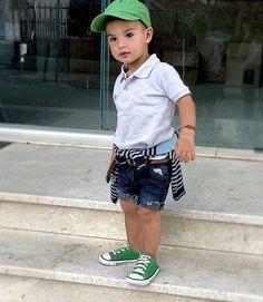 Cute lil boy..