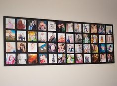 Wall Picture Collage. If your best friend is a big fan of photography and loves showing some amazing pictures on the wall, then this is a creative and fantastic gift idea when he or she moves to a new house.