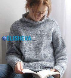 Удлинённые пуловеры вязаные спицами 2017 с описанием и видео | Блог elisheva.ru
