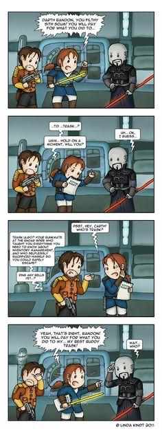 KotOR: Tragic Fate by Isriana.deviantart.com on @deviantART