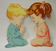 Vintage Nursery Children's Room Wall Art. I had these hanging on my bedroom wall growing up.