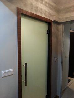 Shower door idea / toilet doors idea