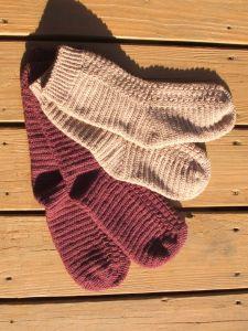 Gratis opskrift hæklede sokker