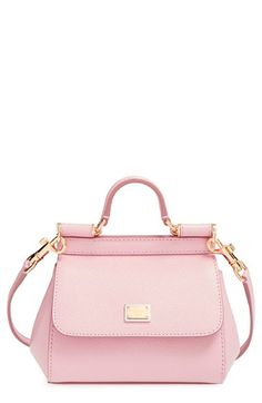 Dolce amp Gabbana Dolce amp Gabbana  Mini Miss Sicily  Satchel available at   Nordstrom f0ae9629e8b8c