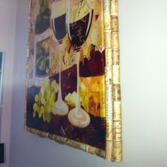 wine cork craft ideas | Made frame out of collection of memorable ... | Wine Cork Craft Ideas