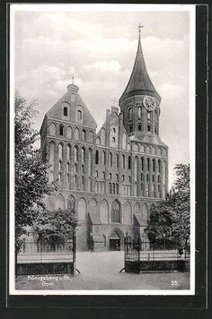 Königsberg, Partie am Dom