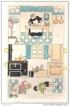 Découpis offert par le Lait Idéal de chez Nestlé des années 1950 - Delcampe.net. ..♥.Nims.♥