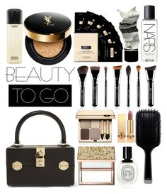 """""""Untitled #266"""" by mydntkrl ❤ liked on Polyvore featuring beauty, Dolce&Gabbana, Sephora Collection, Aesop, NARS Cosmetics, GHD, Lancôme, Clarins, Diptyque and Yves Saint Laurent"""