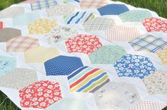 Fun New Chevron Tutorial: HexaChevraGon by a crafty fox ~ amanda, via Flickr