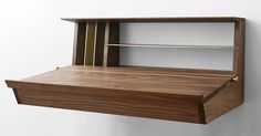 Escritoire - wall mounted desk from Asher Israelow