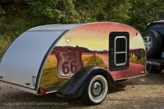 teardrop trailers for sale | Not only cool, but for sale too. We were very interested in it, and ...