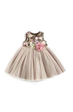 Pippa & Julie Tapestry Print Tutu Dress (Baby Girls) available at #Nordstrom- i love this dress and think it would look amazing on maggie with a light mocha colored plain backdrop. If you don't want this one, just get one that would match a latte type backdrop