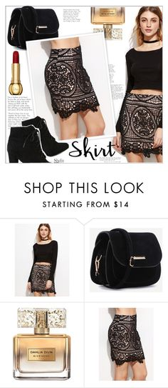 """""""Crochet Skirt"""" by mycherryblossom on Polyvore featuring Givenchy"""